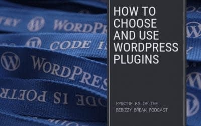 How To Choose and Use WordPress Plugins